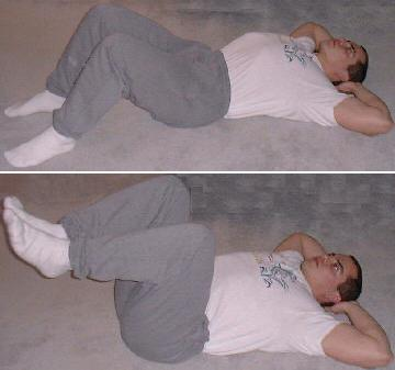 reverse ab crunch picture